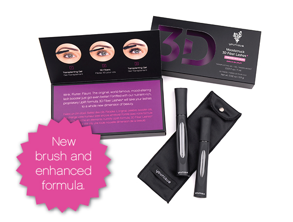 Increase your average lash volume by up to 400%*.